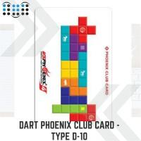 Dart Phoenix club card - Type D-10