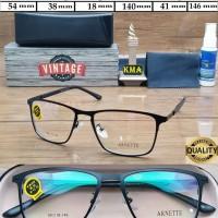 Frame kacamata minus ARNETTE  frame minus retro vintage metal new