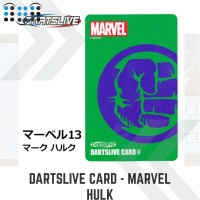 Dartslive card - Marvel Hulk 1