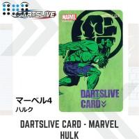 Dartslive card - Marvel Hulk
