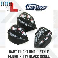Dart flight DMC L-Style flight Kitty Black Skull