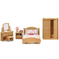 Sylvanian Families / Calico Critters Master / Parents Bedroom Set