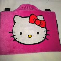 softcase/tas laptop,netbook,notebook lucu Hello Kitty Pink