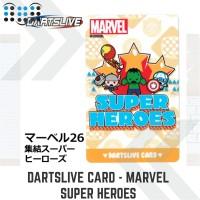 Dartslive card - Marvel Super Heroes