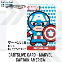 Dartslive card - Marvel Captain America 3