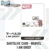 Dartslive card - Marvel I Am Groot
