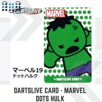Dartslive card - Dots Hulk