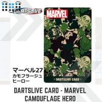 Dartslive card - Camouflage Hero