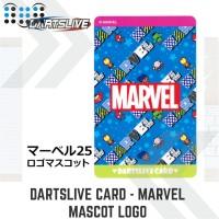 Dartslive card - Marvel Mascot Logo