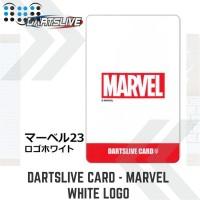 Dartslive card - Marvel White Logo