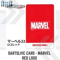 Dartslive card - Marvel Red Logo