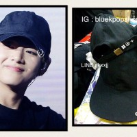 Topi Baseball Kpop 2 Rings Bangtan Boys - BTS 'The WINGS Tour' V / JK