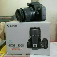 kamera dslr canon eos 1300D wifi + lensa 18-55mm is