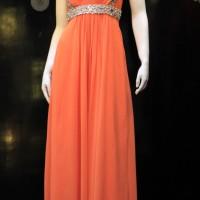 Long Dress Sifon, Model Baju Pesta Pernikahan Wanita  Sifon Dress