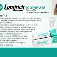 Hilangkan rasa Ngilu karena Minuman dengin dengan Longrich pasta gigi
