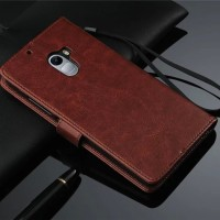 Leather Flip Cover Wallet Lenovo vibe K4 Note A7010 Case dompet kulit