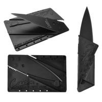 Pisau Lipat Aluminum Sinclair 2 Kartu - Cardsharp Hidden Knife