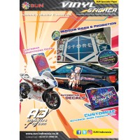 SUN Kertas Sticker Vinyl Inkjet A3