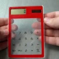 Kalkulator Transparan Cahaya Matahari Calculator Bening Berkualitas