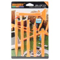 Jakemy 6 in 1 Multifunction Opening Ultra Thin Power Tools Kit JM-OP16