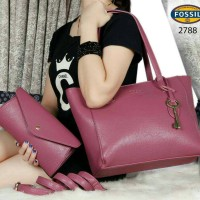 FOSSIL Sydney Shopper Tote 2in1 2788
