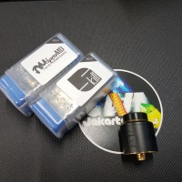 Jual Skill RDA by Twisted Messes & VapersMD 24mm Black Clone by SXK Murah