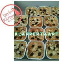 Klappertart homemade (tanpa rhum dan halal)