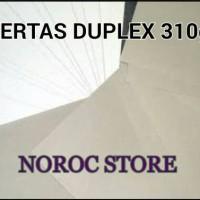 KERTAS DUPLEX 310gram 90 x 120