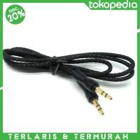 harga Termurah! Kabel Audio Aux 3.5mm 1 Meter Tokopedia.com