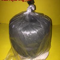 @1kg tali plastik rafia hitam gulungan 1kg full jahit karung