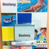 LEM KASUR ANGIN + Sticker - BESTWAY - Tambal Kasur Angin kolam plastik