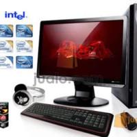 RAKITAN DUAL CORE EXTREME G41 Monitor Led Ujian Online Wireless