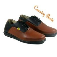 SEPATU CASUAL PRIA COUNTRY BOOTS NEMO BLACK BROWN