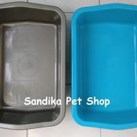 Litter Box / Bak Pasir Kucing Ukuran M / Sedang , Hanya Gojek / Grab