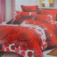 Harga sprei katun ersa red rose | antitipu.com