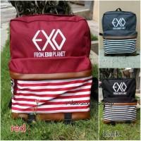 Tas backpack kpop/exo/bts/no custom/ready stok