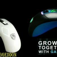 Mouse Gaming MACRO SADES GUNBLADE RGB (SADES GUNBLADE / SADES S16)