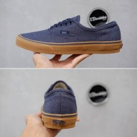 Sepatu Vans Authentic Blue Gum Premium BNIB Wanita Made In China