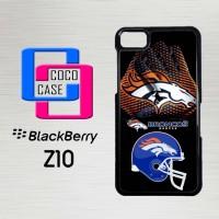 Casing Hp Blackberry Z10 Denver Broncos Logo X4202