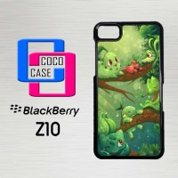 Casing Hp Blackberry Z10 Grass Starters X4144