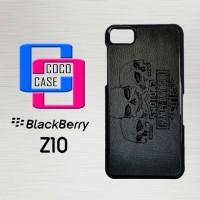 Casing Hp Blackberry Z10 Harley Skull Wallpaper X4488