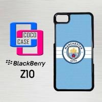 Casing Hp Blackberry Z10 Manchester city X4254