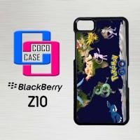 Casing Hp Blackberry Z10 Pokémon GO X4672