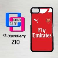 Casing Hp Blackberry Z10 Walking Dead Door Cling X4383