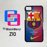 Casing Hp Blackberry Z10 FC Barcelona X4295