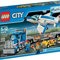 Jual JUAL LEGO City, Training Jet Transporter (60079) Murah