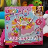 mainan anak perempuan cewek diy fruit cake happy birthday kue ultah