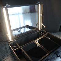 Makeup Case with LED Lights