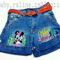 Hot Pant celana pendek anak perempuan rok celana levis