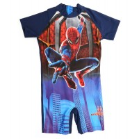 Babyzania Baju Renang Anak - Navy The Amazing Spiderman